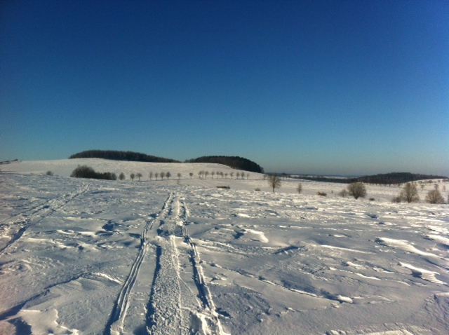 Over the Ore mountains